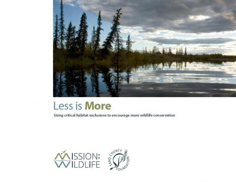 Policy Analysis on Critical Habitat Exclusions